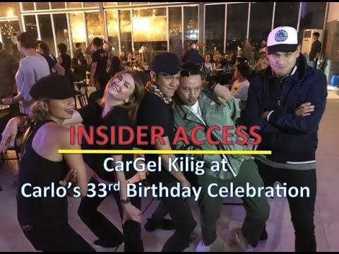 Insider Access: CarGel Kilig at Carlo Aquinos 33rd Birthday Celebration