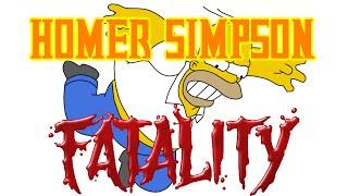 Homer simpson Fatality