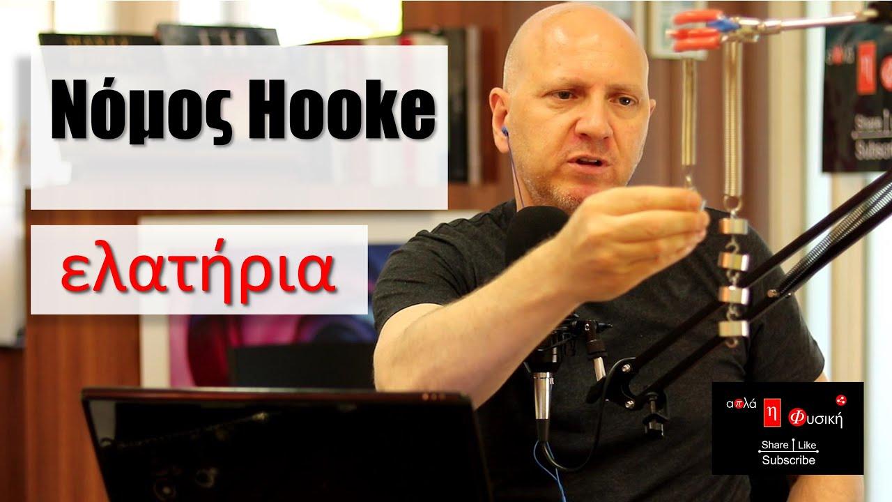 Νόμος Hooke | τα Ελατήρια