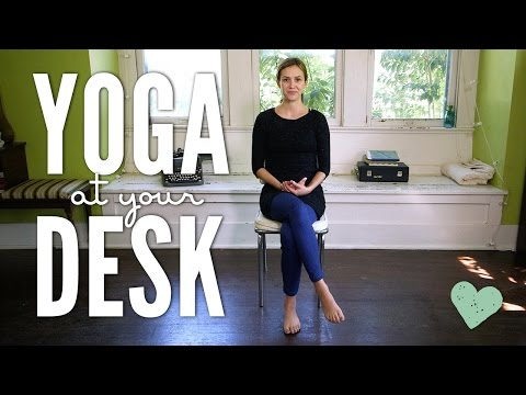 Yoga at Your Desk