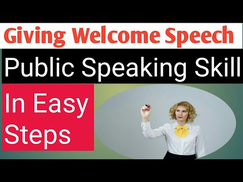Welcome Speech on INDEPENDENCE Day / Public speaking  Skill