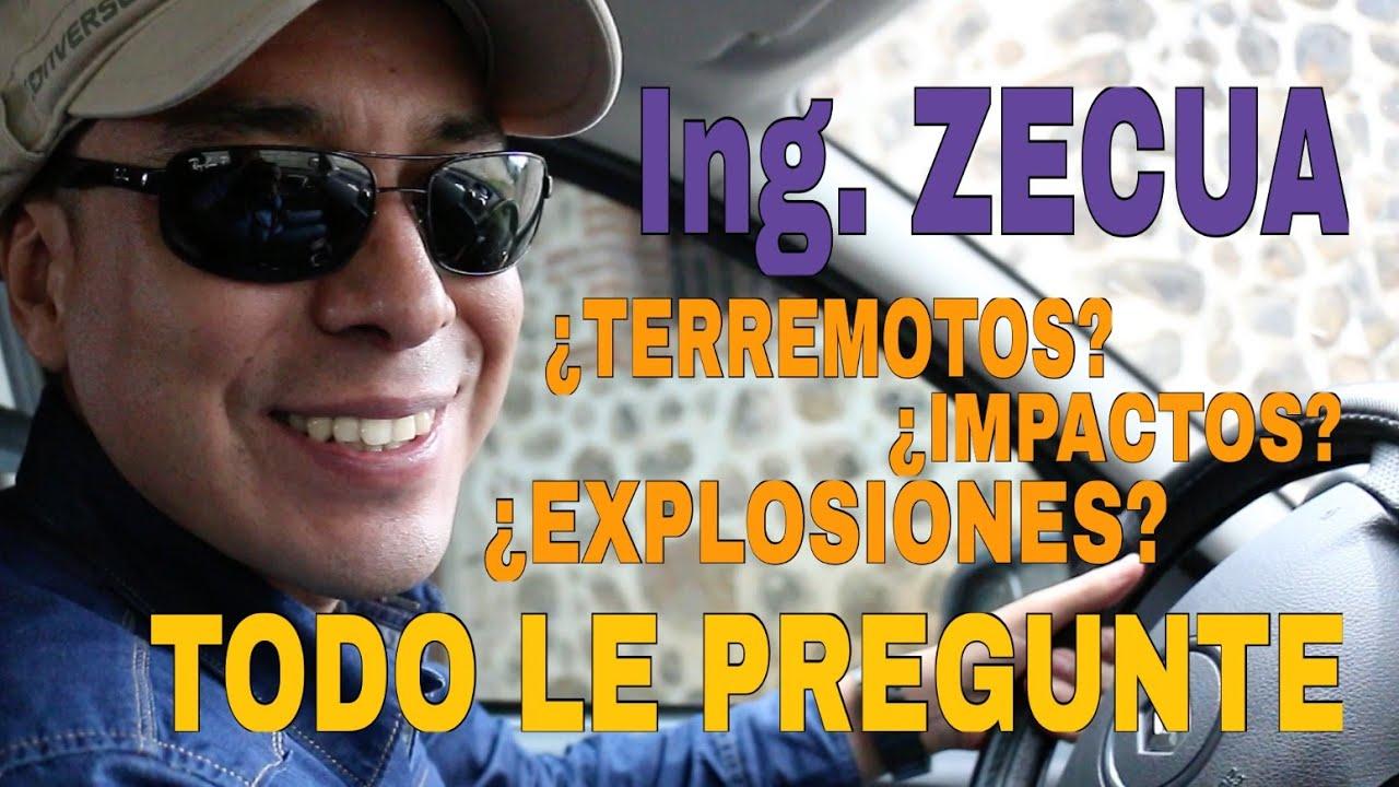 Resultado de imagen para megaterremoto ingeniero zecua