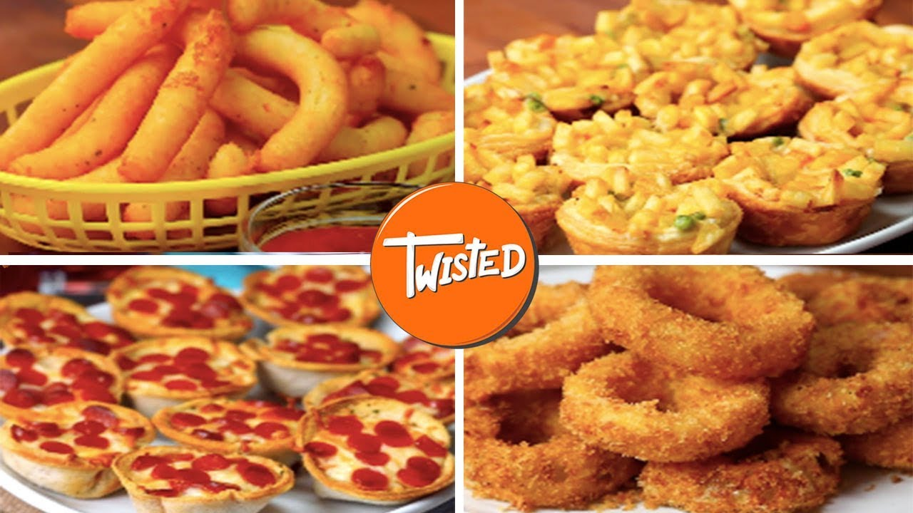 10 finger foods for your next party youtube