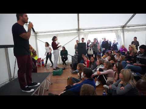 James Aspey at Dublin Vegan Festival