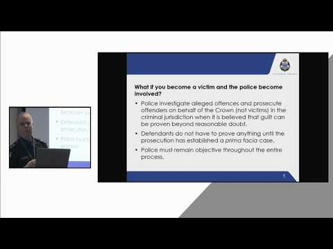DHHS - Staff Forum - Engaging with police in reporting an incident – what you need to know