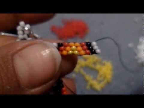 Seed bead bracelet patterns easy