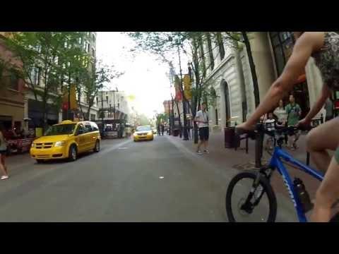 Bicycling Calgary