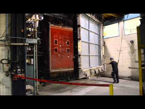 IMO FTP A60 Fire Test on Firevault wall panel