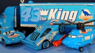 Тачки - машинки из мультика. Молния Маквин - Диноко. Disney Cars Dinoco diecast collection.