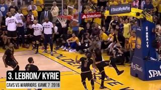 |十大令人熱血沸騰NBA總決賽經典時刻|