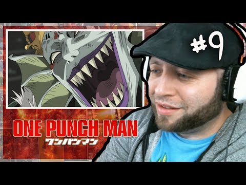 ONE PUNCH MAN Episode 9 REACTION