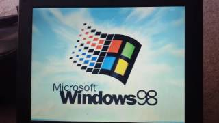1998 Dell Inspiron 3200 D233ST running Windows 98 Second Edition