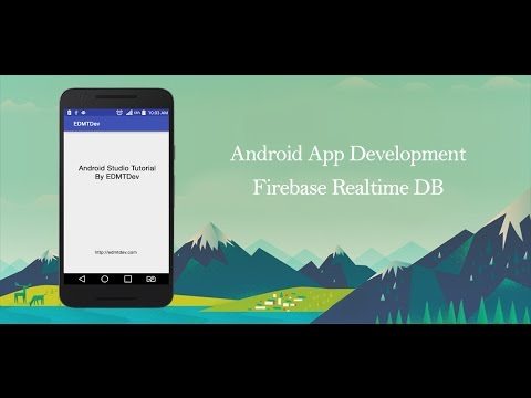 Android Studio Tutorial - Firebase Database