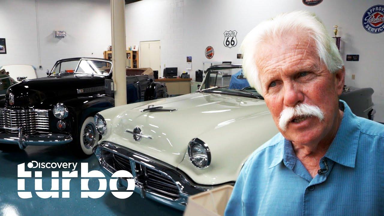 Asombrosa exhibición de autos descapotables de 1950 | Buscando autos clásicos | Discovery Turbo