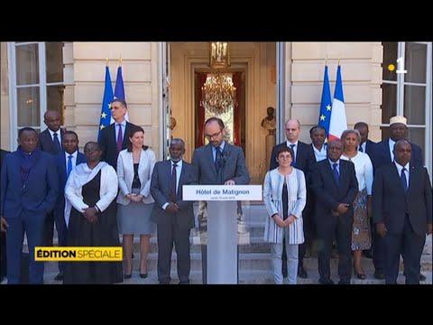 Matignon : Edouard Philippe s'exprime sur la situation à Mayotte