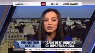 Angela Rye Discusses Immigration w/ MSNBC