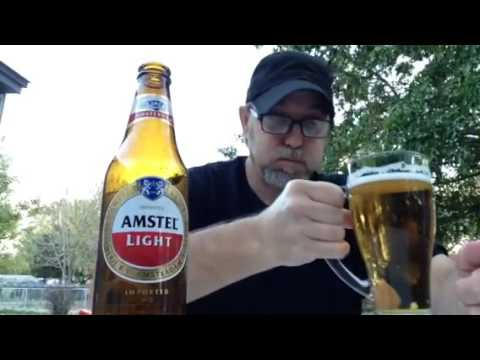 The Beer Review Guy # 251 Amstel Light 3.5% Alc By Vol