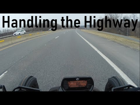 How The Can Am Ryker Handles Highway While Going For Pizza