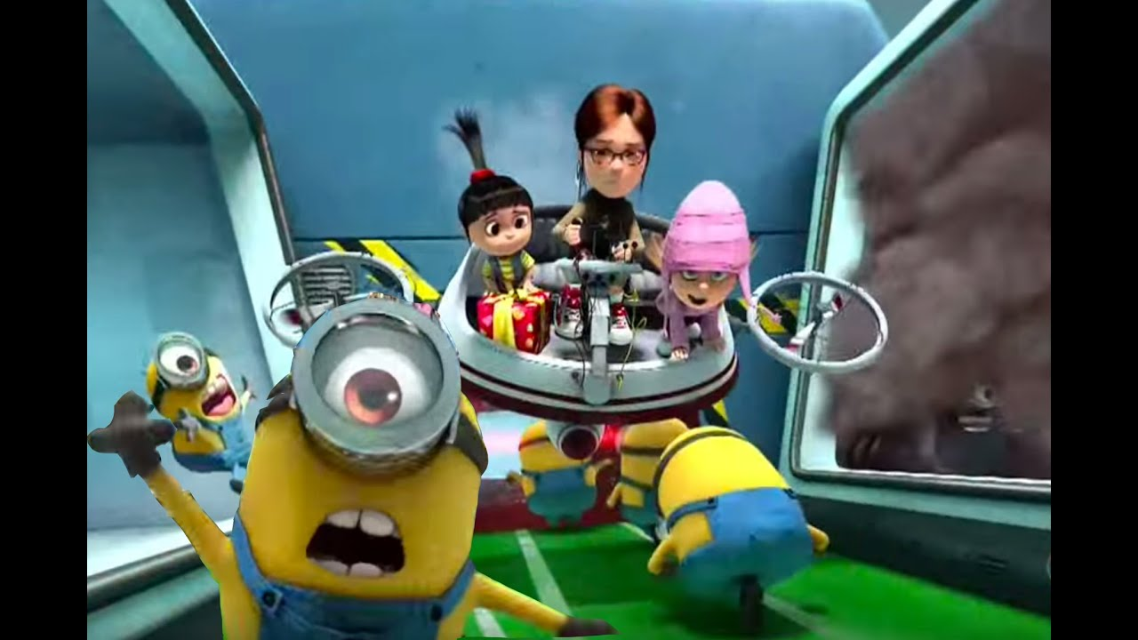 Amazon.com: <b>Despicable Me Minions</b> Set of 8 Action Figures included ...