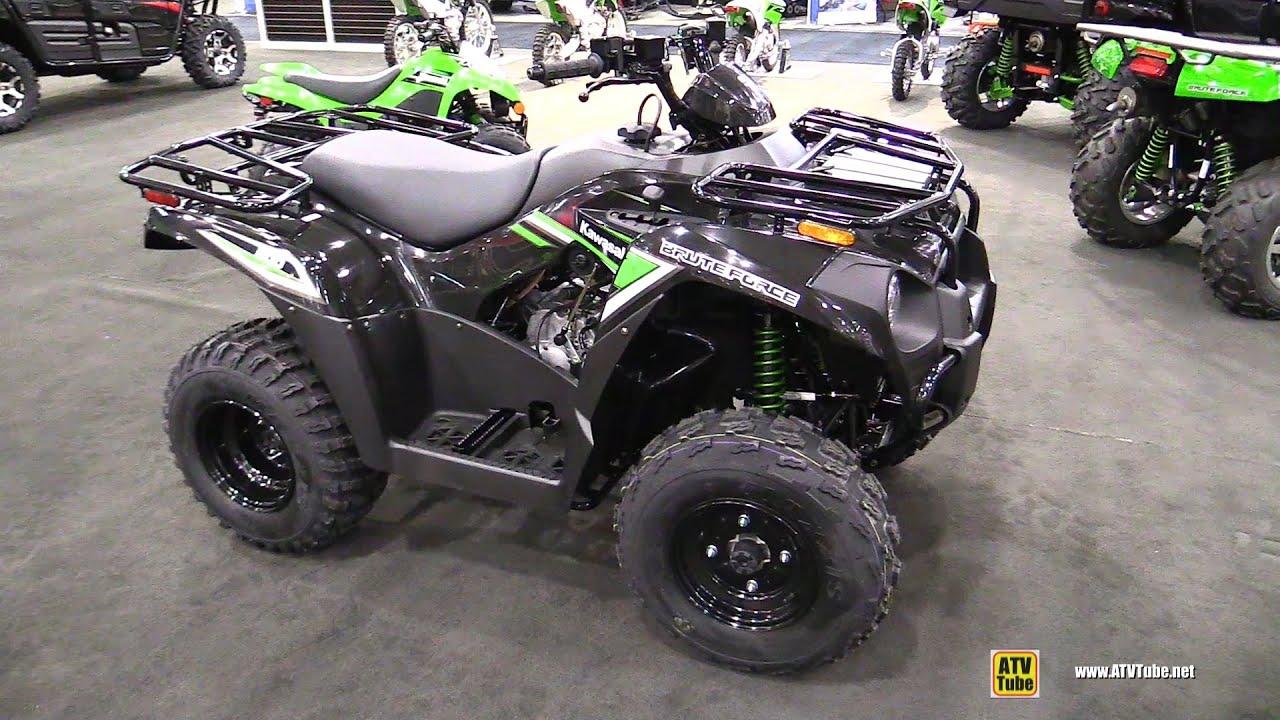 2016 Kawasaki Brute Force 300 Recreational ATV - Walkaround - 2015