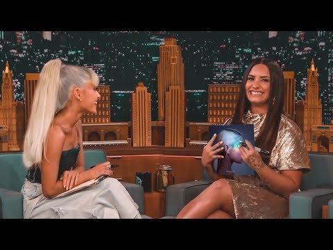 Ariana Grande Best Friends Challenge With Demi Lovato