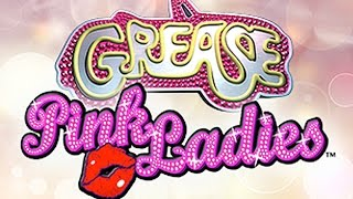MAX BET - Grease - Pink Ladies - Pink Rules Feature - Slot Machine Bonus