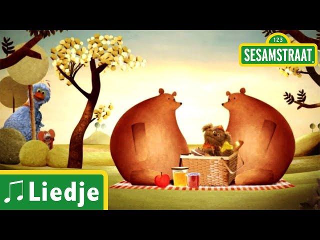 Ik zag twee beren - Kinderliedje - Sesamstraat