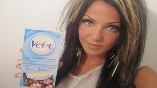At Home Waxing Using Veet