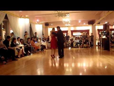 milonga performance by Hugo & Avis at Milonga Otro Noche(Hong Kong)
