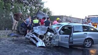 Ora News - Aksident i rëndë në Shkodër, 6 të plagosur, mes tyre një fëmijë