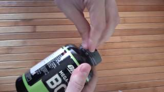 Распаковка Аминокилоты Optimum Nutrition BCAA 1000 из Rozetka.com.ua
