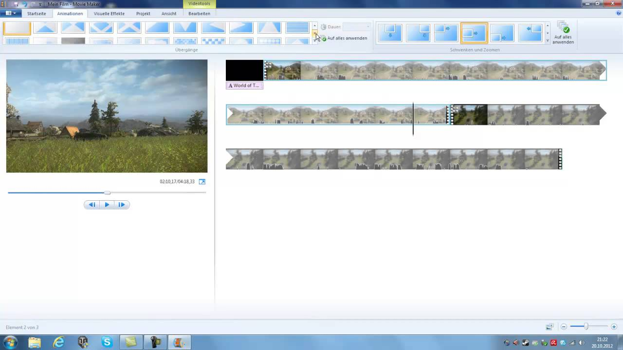 how to add narration to windows movie maker 2012