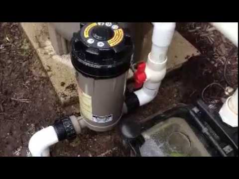 Diy Hayward Cl200 In Line Chlorinator Installation Youtube
