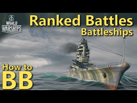 World of Warships: How to BB | Battleships in HIGH Ranked Battles