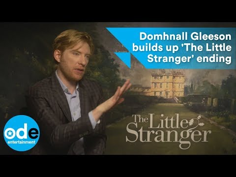 Domhnall Gleeson builds up 'The Little Stranger' ending