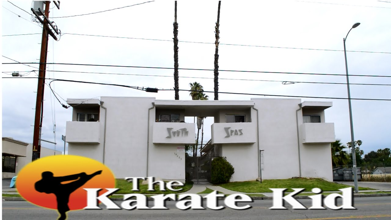 Apartment Building Karate Kid the karate kid - filming location - youtube