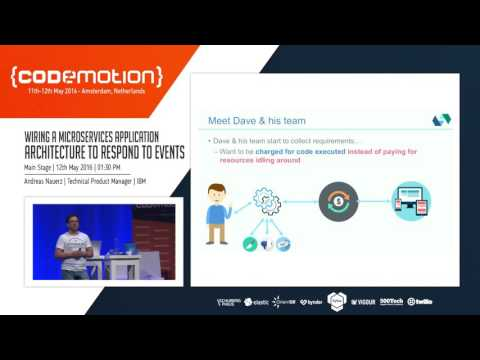 Andreas Nauerz - Wiring a Microservices Application Architecture to Respond to Events