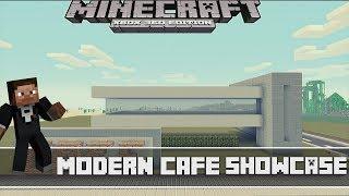 Minecraft Xbox 360 Modern Cafe Final Showcase