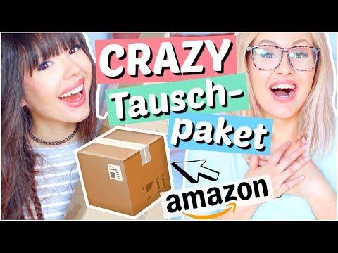 Dieses Amazon TAUSCHPAKET ist zuu CRAZY 📦 mit LAURENCOCOXO   ViktoriaSarina