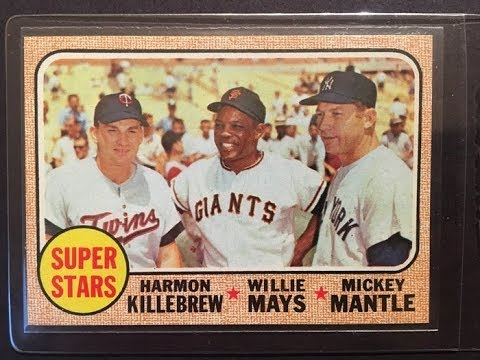 Submitting A 1968 Mickey Mantle Baseball Card For Psa Grading