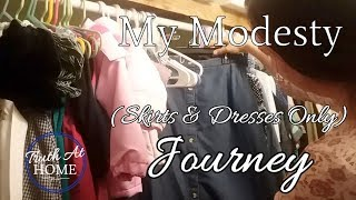 My MODESTY Journey (SKIRTS & DRESSES ONLY)  | Day in the life