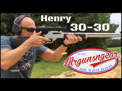Henry Repeating Arms All Weather 30-30 Rifle Review (HD)