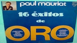 Paul Mauriat 16 Exitos De Oro Instrumentales romanticos LP 1983