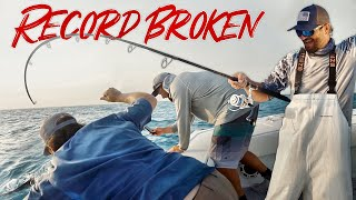 BREAKING the MOST UnBreakable RECORD in FISHING