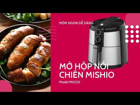 Nồi chiên không dầu Mishio MK220 5 Lít