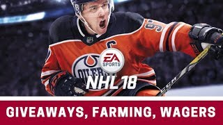 NHL 18 - WAGERS, GIVEAWAYS.. WHAT EA COULD