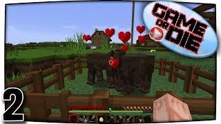 Das Aussterben der Kühe verhindern | LPT Minecraft Vanilla 1.8.8 #2 | GAME or DIE [HD 1080p/60fps]