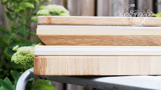How to choose a cutting board  - What is the best cutting board? - Wood, Plastic, Bamboo or Rubber?