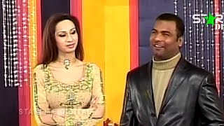 Best Of Tahir Anjum and Deedar New Pakistani Stage Drama Full Comedy Funny Clip