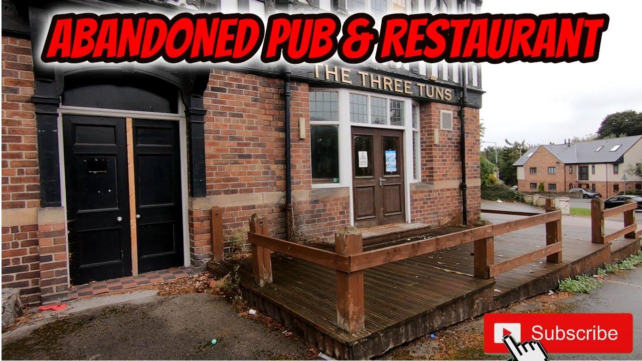ABANDONED PUB & Restaurant found whilst exploring Abandoned places UK